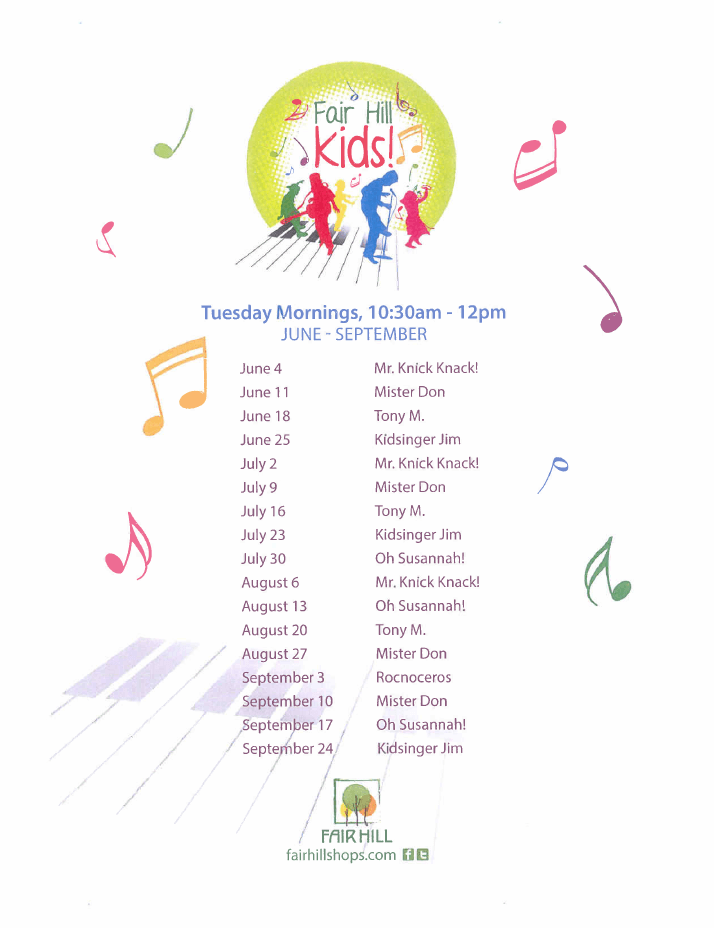 KIDS SUMMER SHOWS