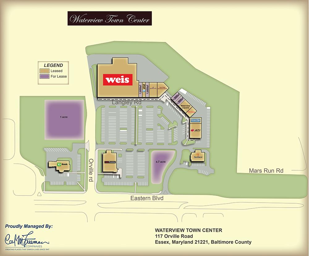 Waterview Town Center Carl M Freeman Companies